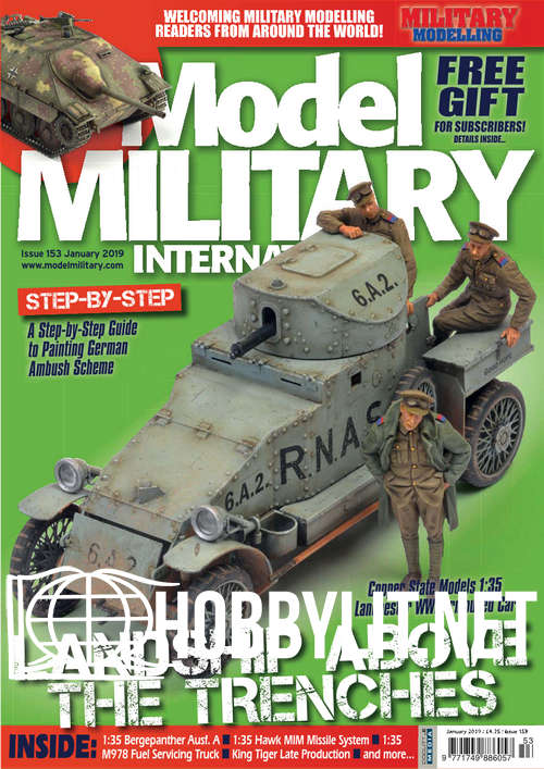 Model Military International 153 – January 2019