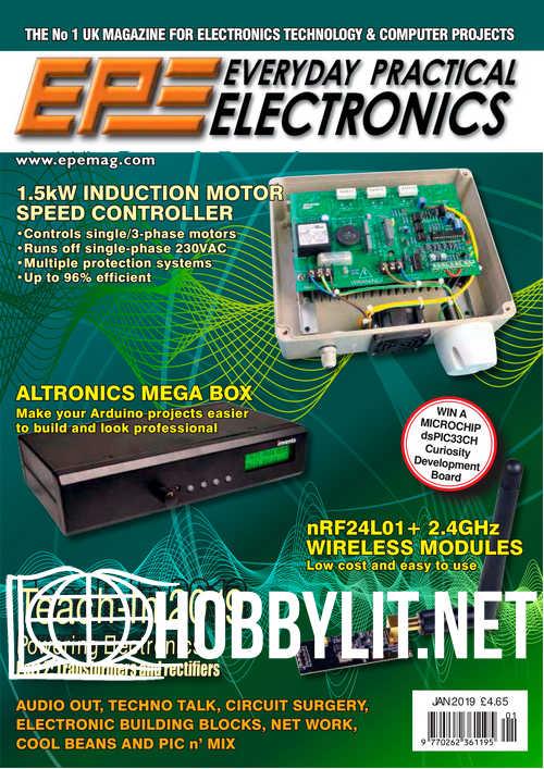 Everyday Practical Electronics – January 2019