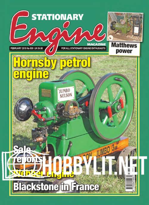 Stationary Engine – February 2019