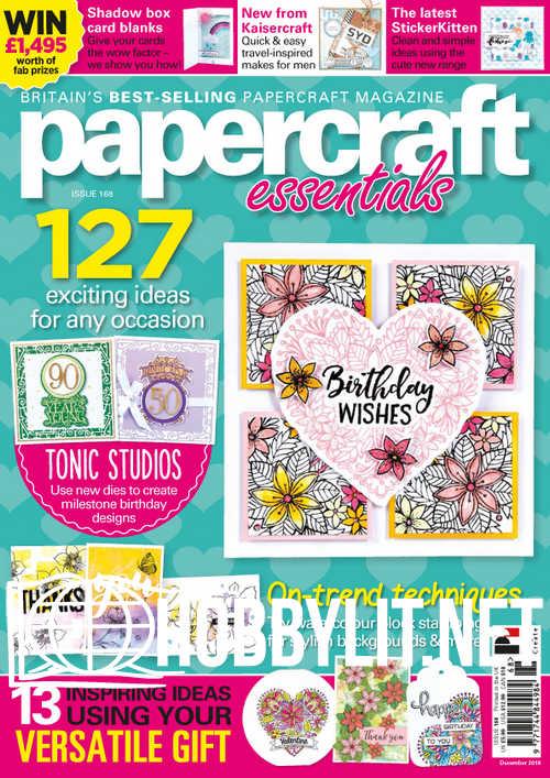 Papercraft Essentials Issue 168