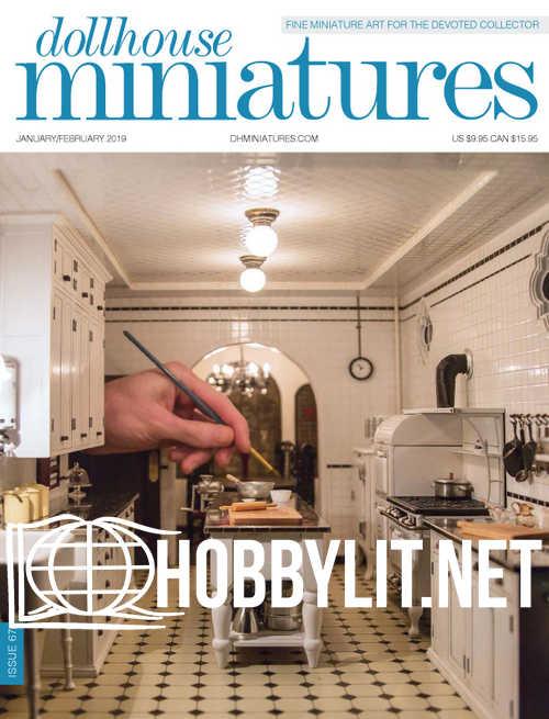 Dollhouse Miniatures - January/February 2019