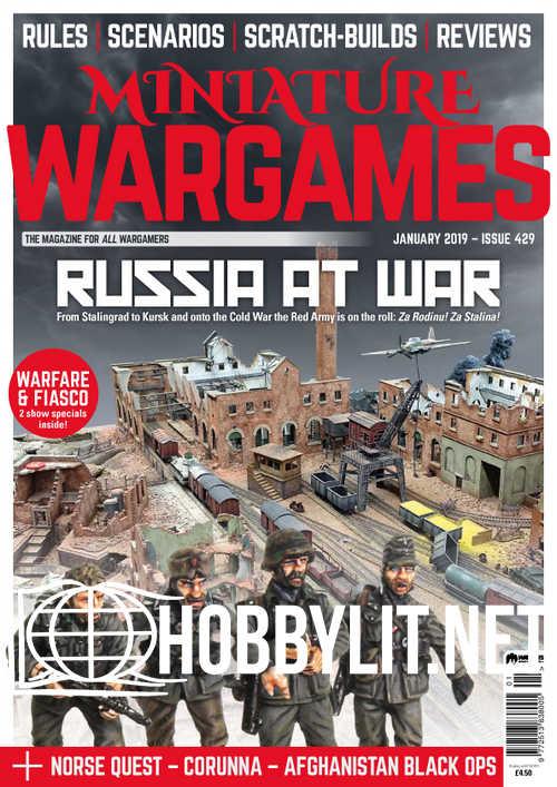 Miniature Wargames – January 2019