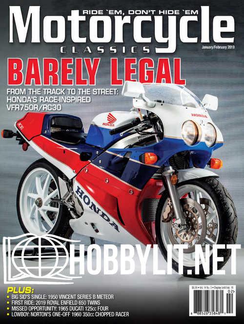 Motorcycle Classics - January/February 2019