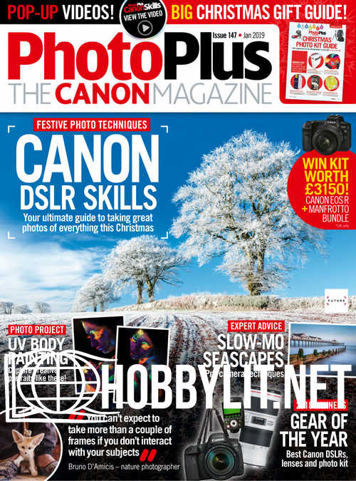 Photo Plus. The Canon Magazine - January 2019