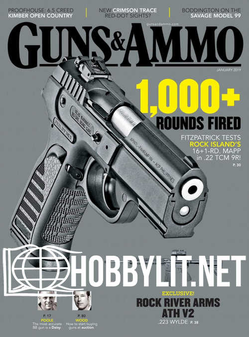 Guns & Ammo – January 2019