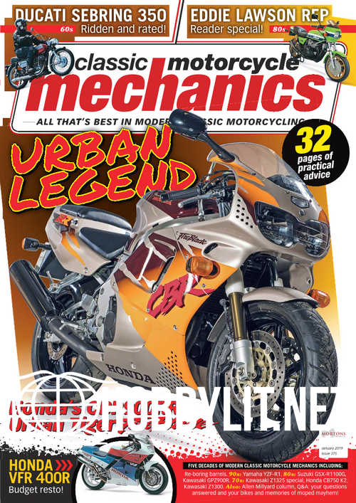 Classic Motorcycle Mechanics - January 2019