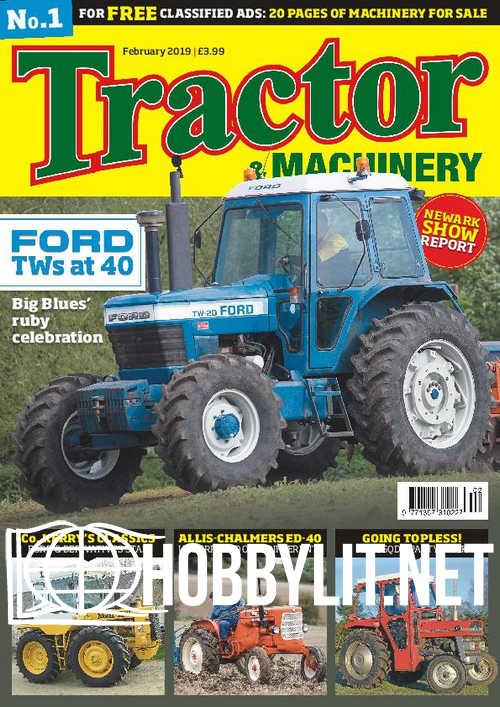 Tractor & Machinery – February 2019