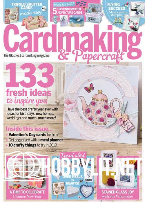 Cardmaking & Papercraft - January 2019