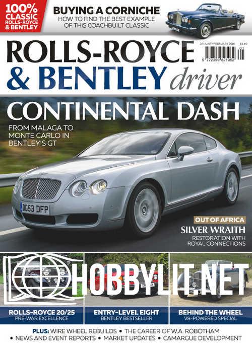 Rolls-Royce & Bentley Driver – Janauary/February 2018