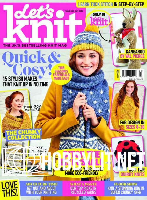 Let's Knit – January 2019