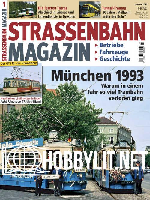 Strassenbahn Magazin - Januar 2019