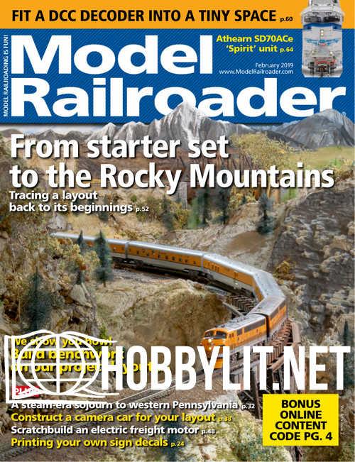 Model Railroader - February 2019