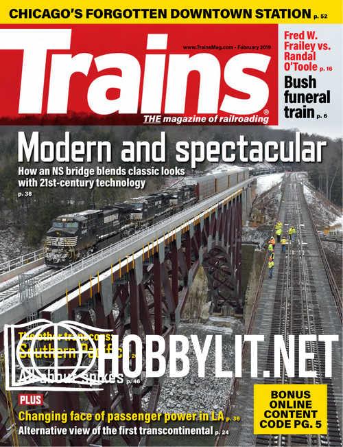 Trains - February 2019