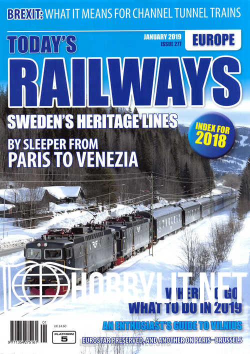 Today's Railways Europe - January 2019