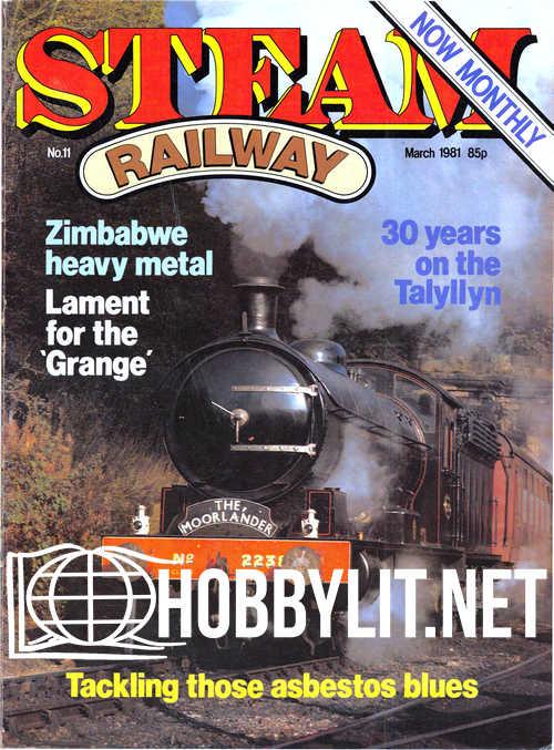Steam Railway 011 - March 1981