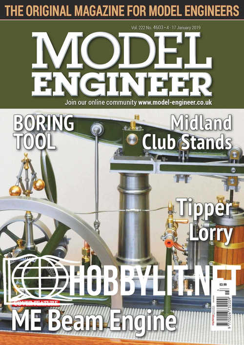 Model Engineer 4603 – 09 January 2019