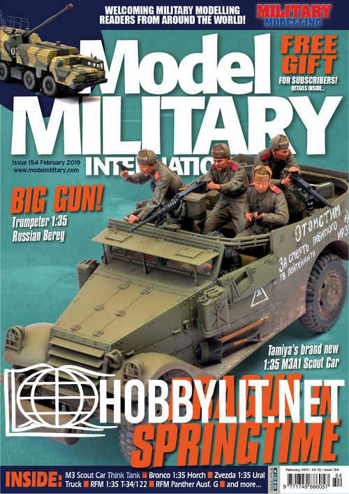 Model Military International 154 – February 2019