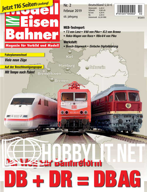 ModellEisenBahner - Februar 2019