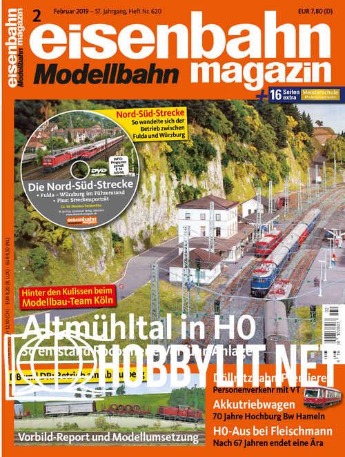 Eisenbahn Magazin - Februar 2019