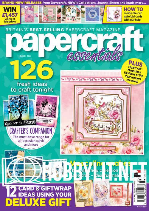 Papercraft Essentials Issue 169