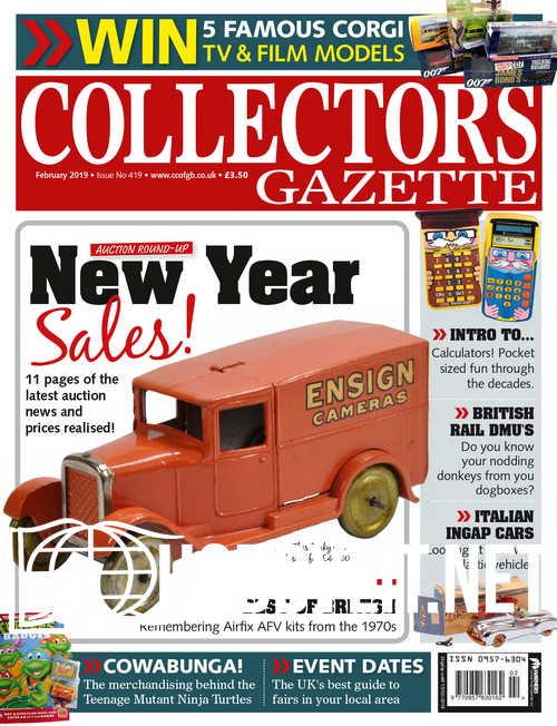 Collectors Gazette – February 2019