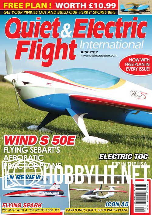 Quiet & Electric Flight - June 2012