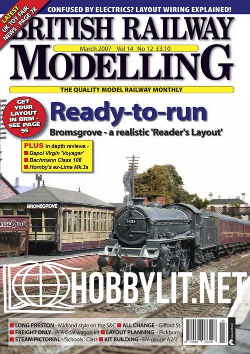 British Railway Modelling - March 2007
