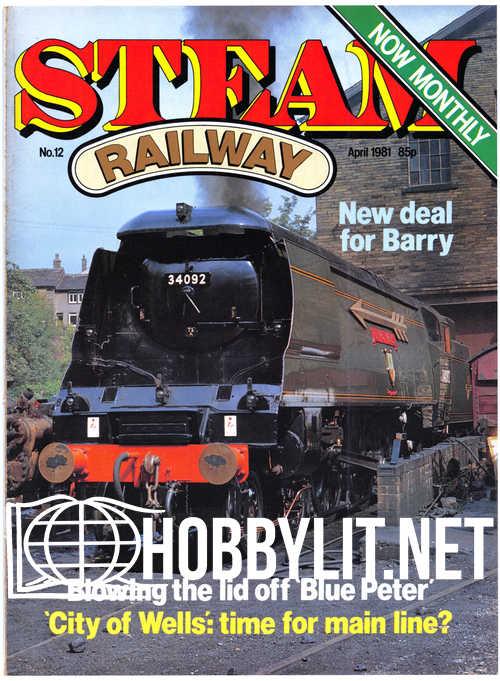 Steam Railway 012 - April 1981