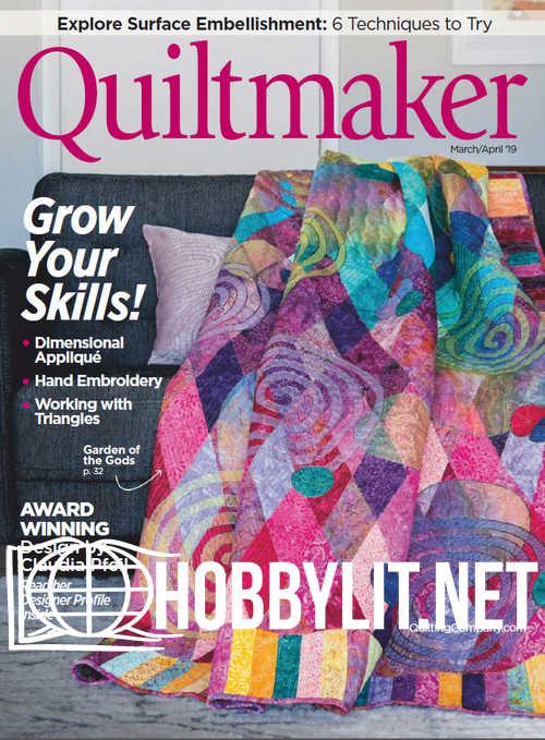 Quiltmaker – March/April 2019