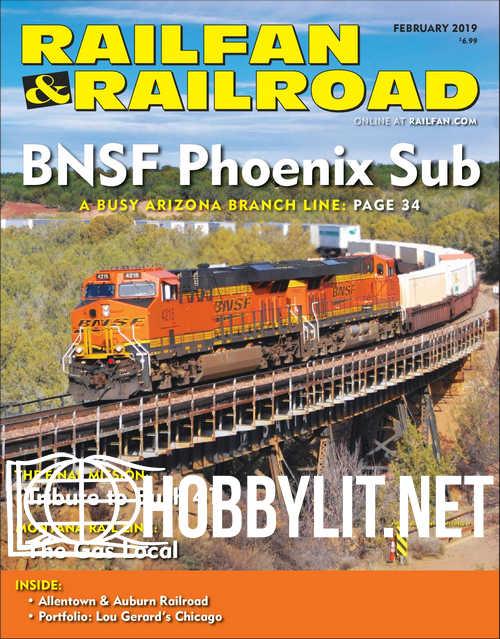 Railfan & Railroad - February 2019