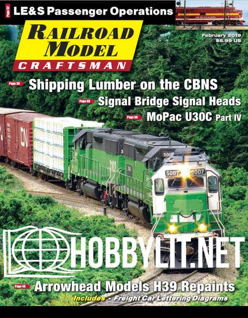 Railroad Model Craftsman - February 2019