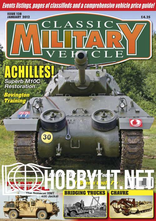 Classic Military Vehicle - January 2012