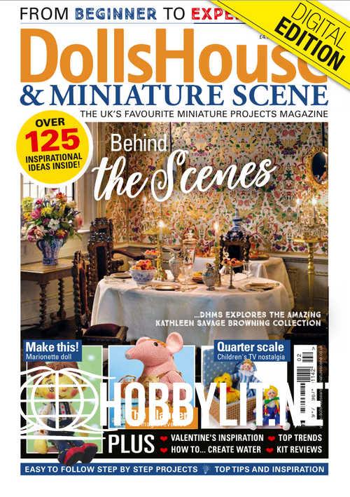 Dolls House and Miniature Scene - February 2019