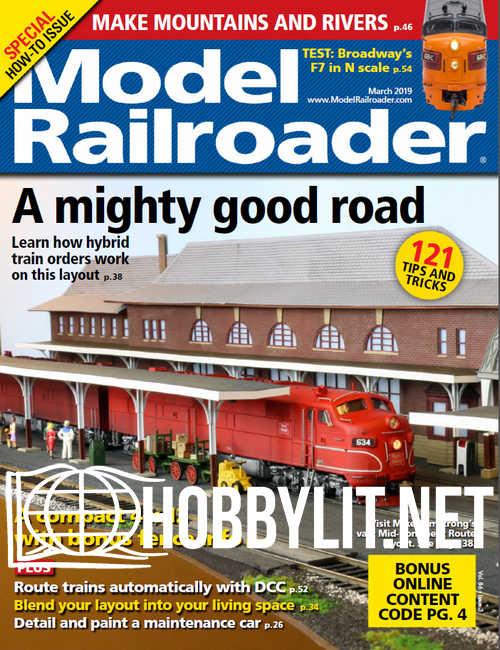 Model Railroader - March 2019