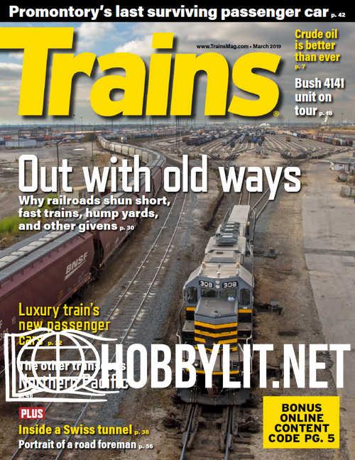 Trains - March 2019