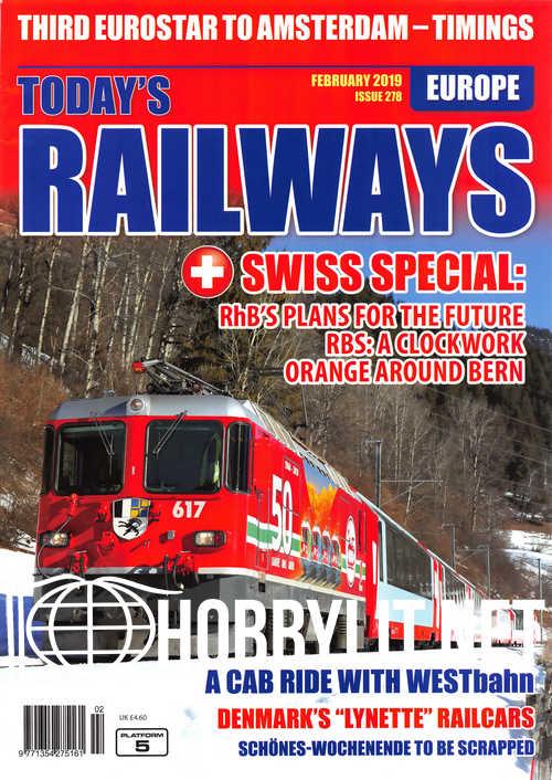 Today's Railways Europe - February 2019