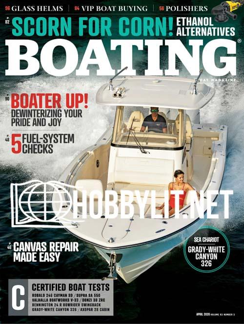 Boating - April 2020