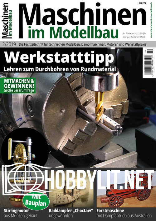 Maschinen im Modellbau - Februar 2019