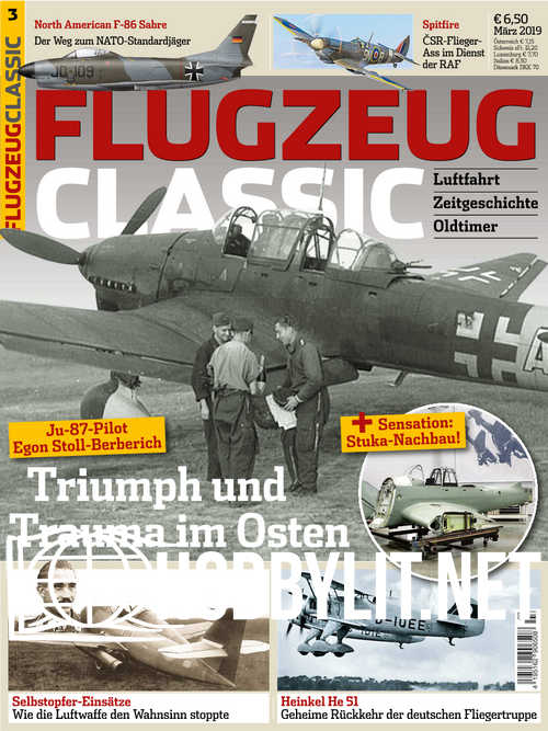 Flugzeug Classic 2019-03