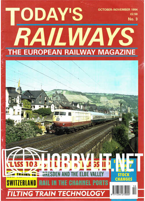 Today's Railways Europe Issue 003 - October-November 1994