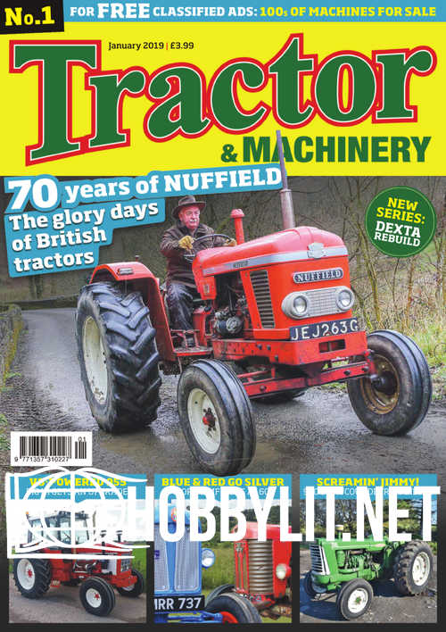 Tractor & Machinery – January 2019