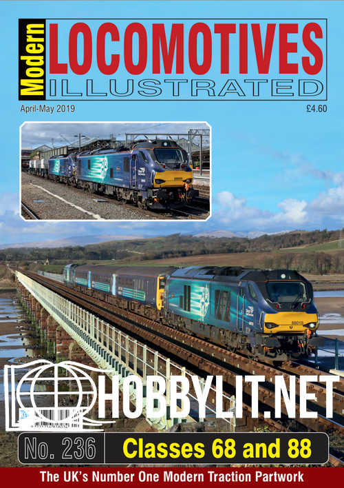 Modern Locomotives Illustrated - April-May 2019