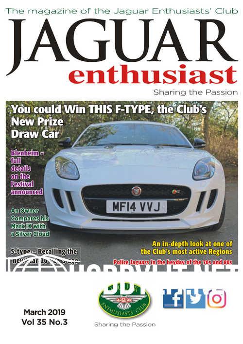 Jaguar Enthusiast - March 2019