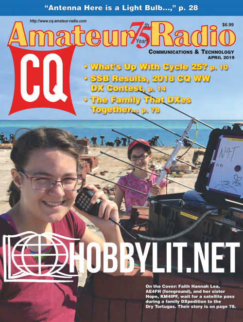 CQ Amateur Radio - April 2019