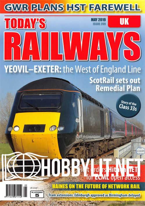 Today's Railways UK - May 2019