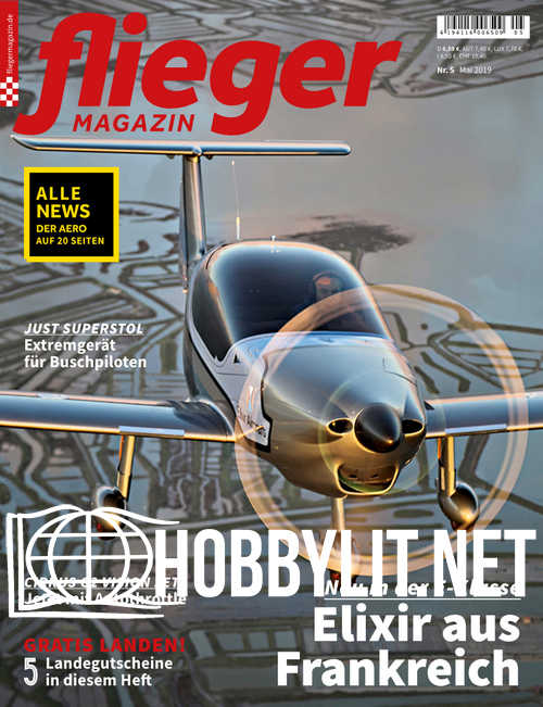 Fliegermagazin - Mai 2019