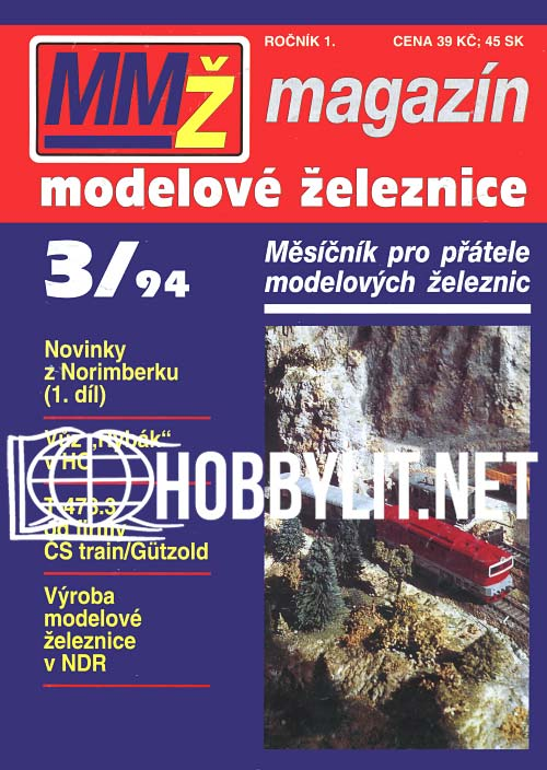 Magazin Modelove Zeleznice 003 - 1994-03
