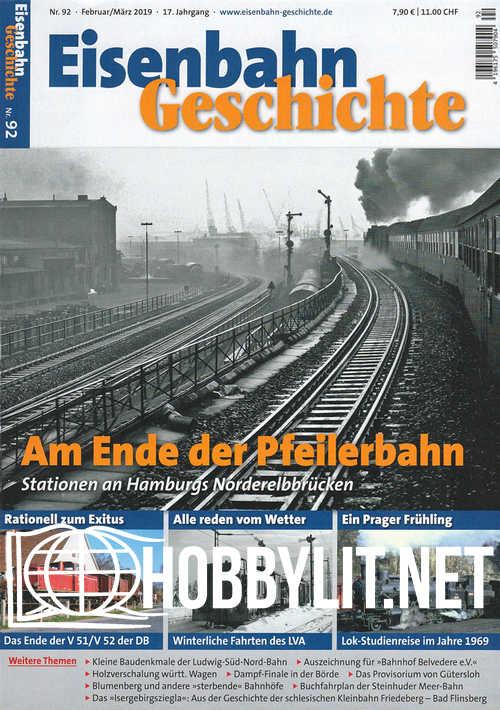 Eisenbahn Geschichte - Februar/Marz 2019