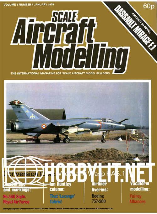 Scale Aircraft Modelling V.1 No 4 - January 1979