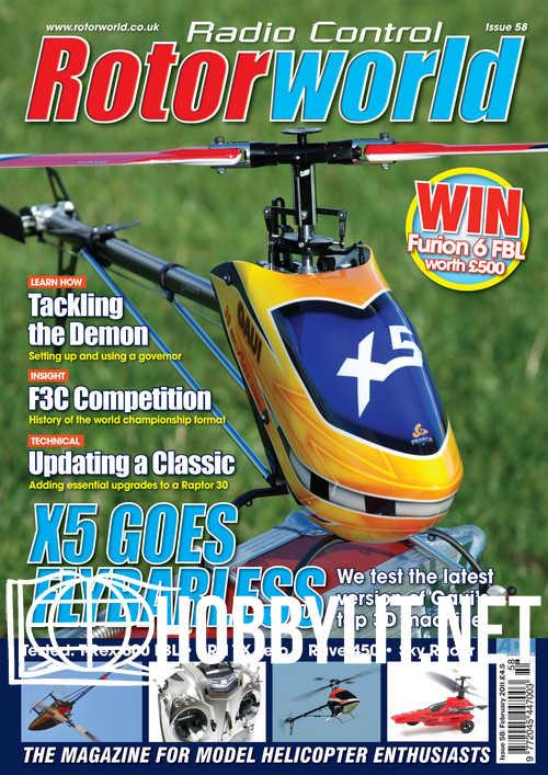 Radio Control Rotor World Issue 58 - February 2011
